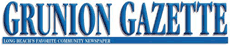 Grunion Gazette logo
